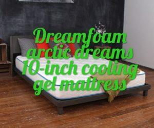 Dreamfoam Arctic Dreams 10 Inch Cooling Gel Mattress Mattress