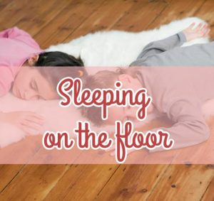 Sleeping on the floor – Mattress Review