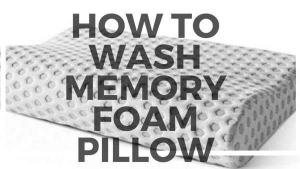 How to wash a memory foam pillow – Mattress Review Center
